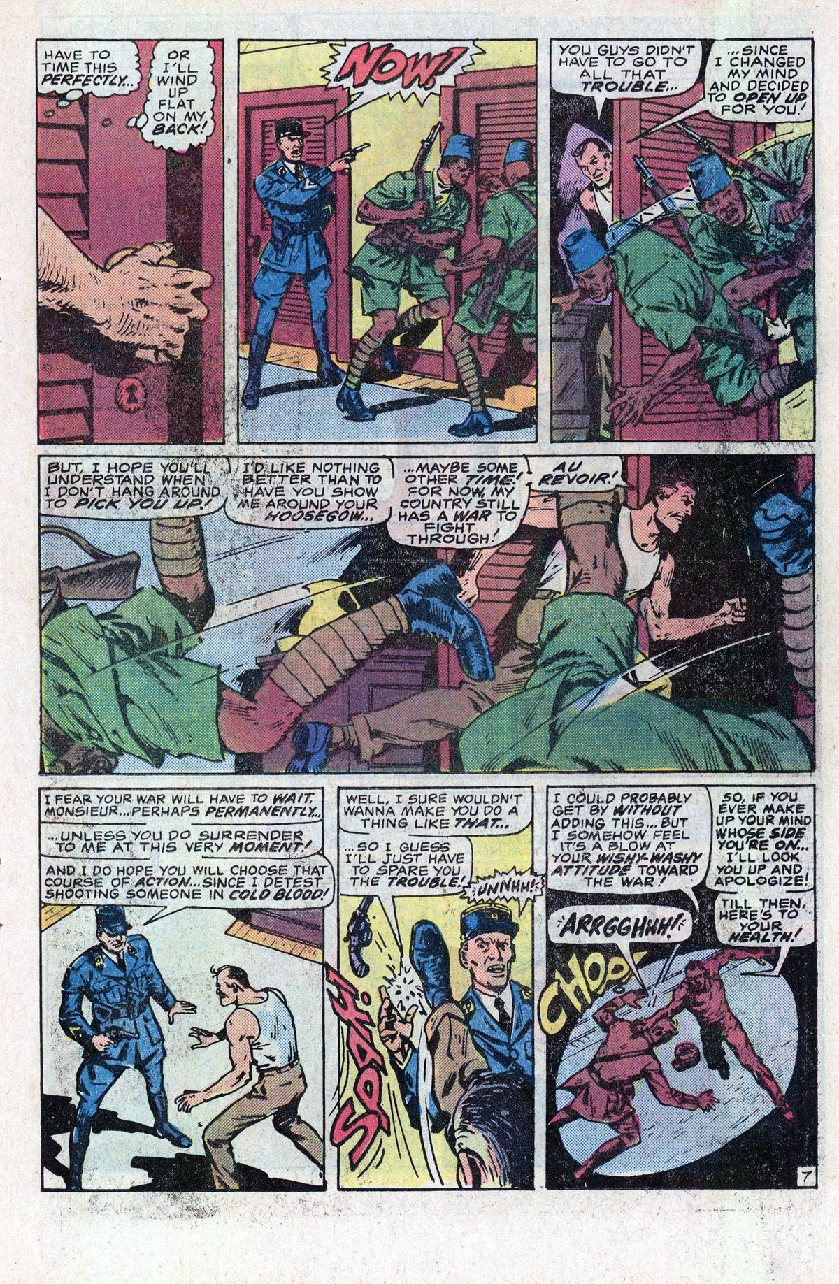 Read online Sgt. Fury comic -  Issue #166 - 11