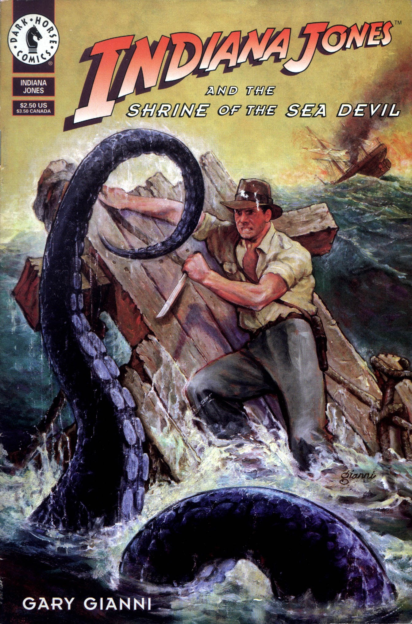 Indiana Jones and the Shrine of the Sea Devil Full Page 1