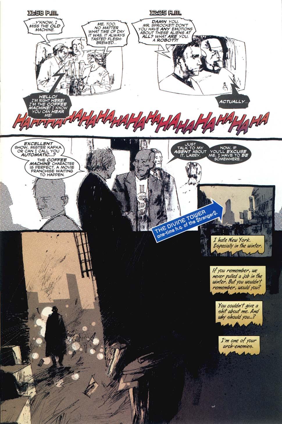 Read online Automatic Kafka comic -  Issue #8 - 9