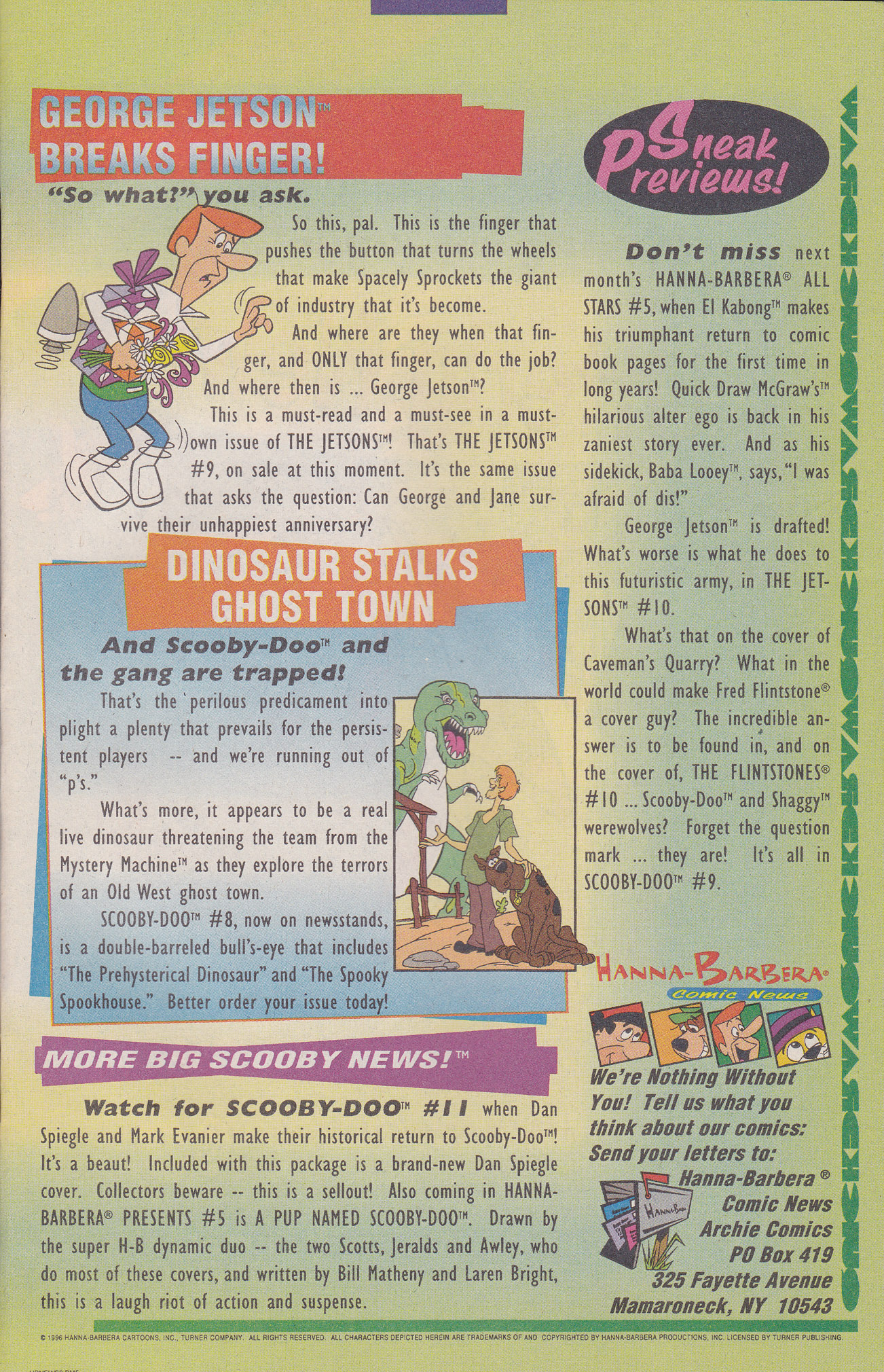 Read online Scooby-Doo (1995) comic -  Issue #8 - 21