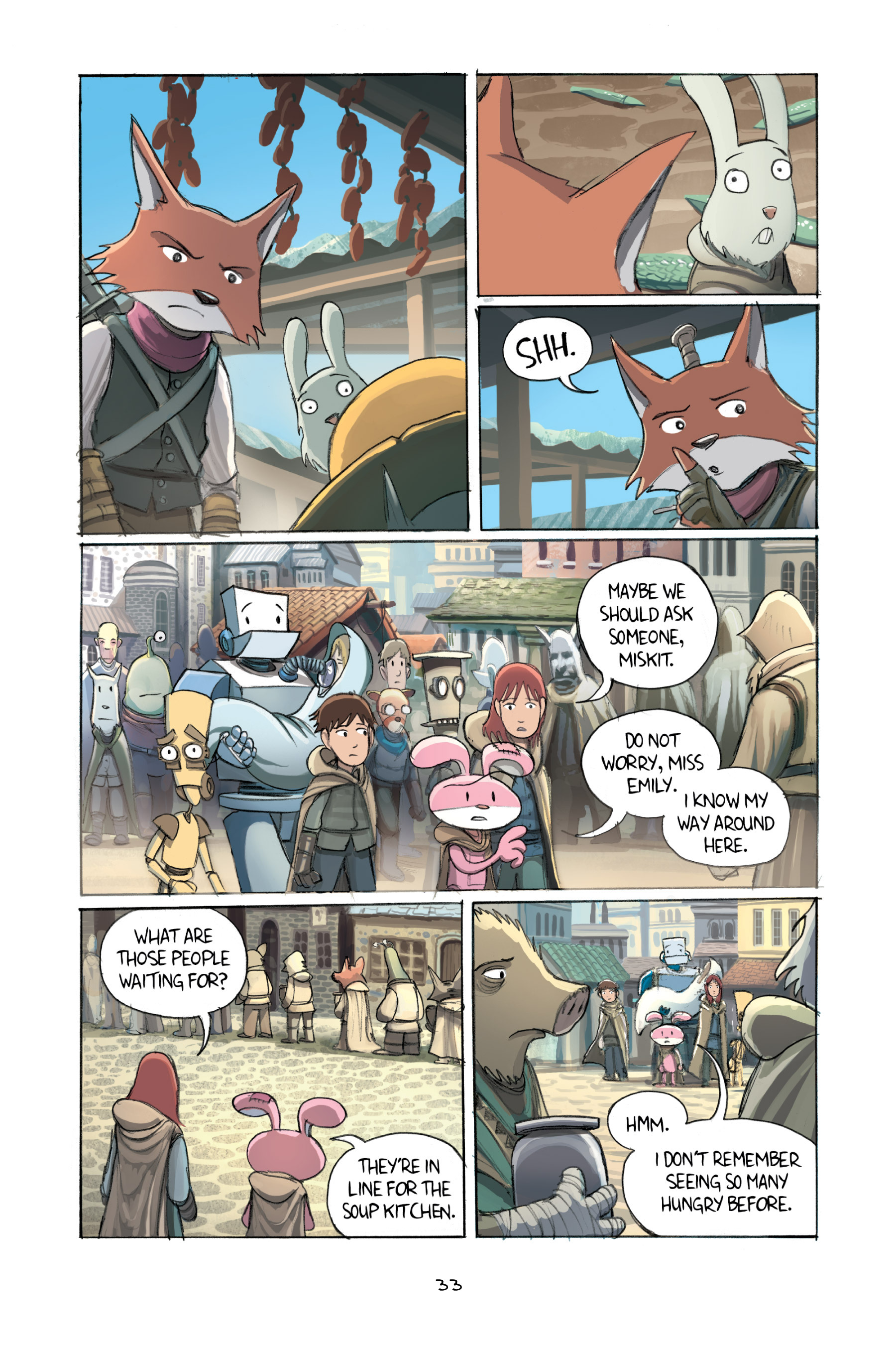 Read online Amulet comic -  Issue #2 - 35