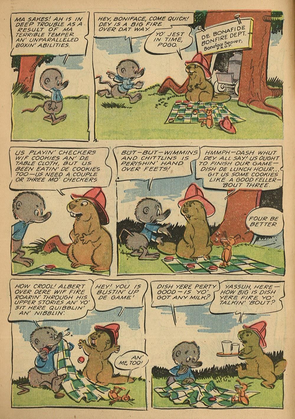Read online Animal Comics comic -  Issue #24 - 6