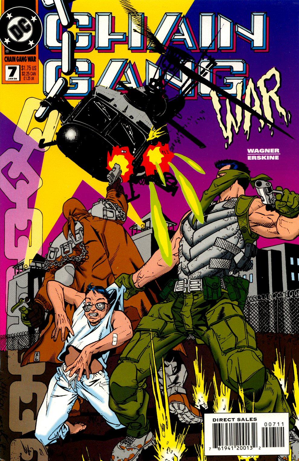 Chain Gang War 7 Page 1