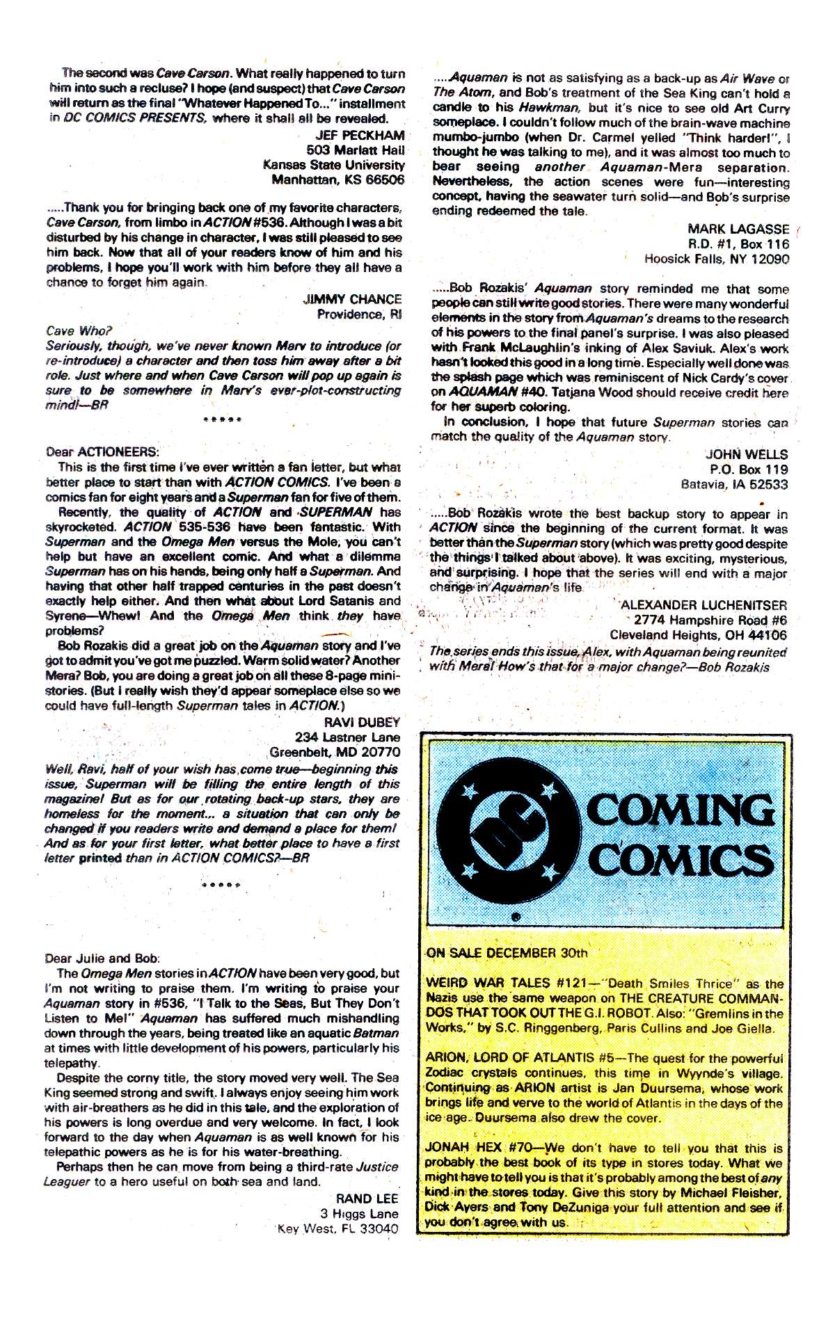 Read online Action Comics (1938) comic -  Issue #541 - 26