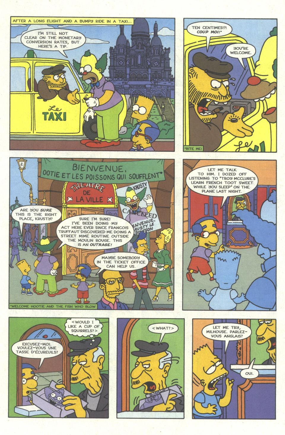 Read online Simpsons Comics comic -  Issue #23 - 10