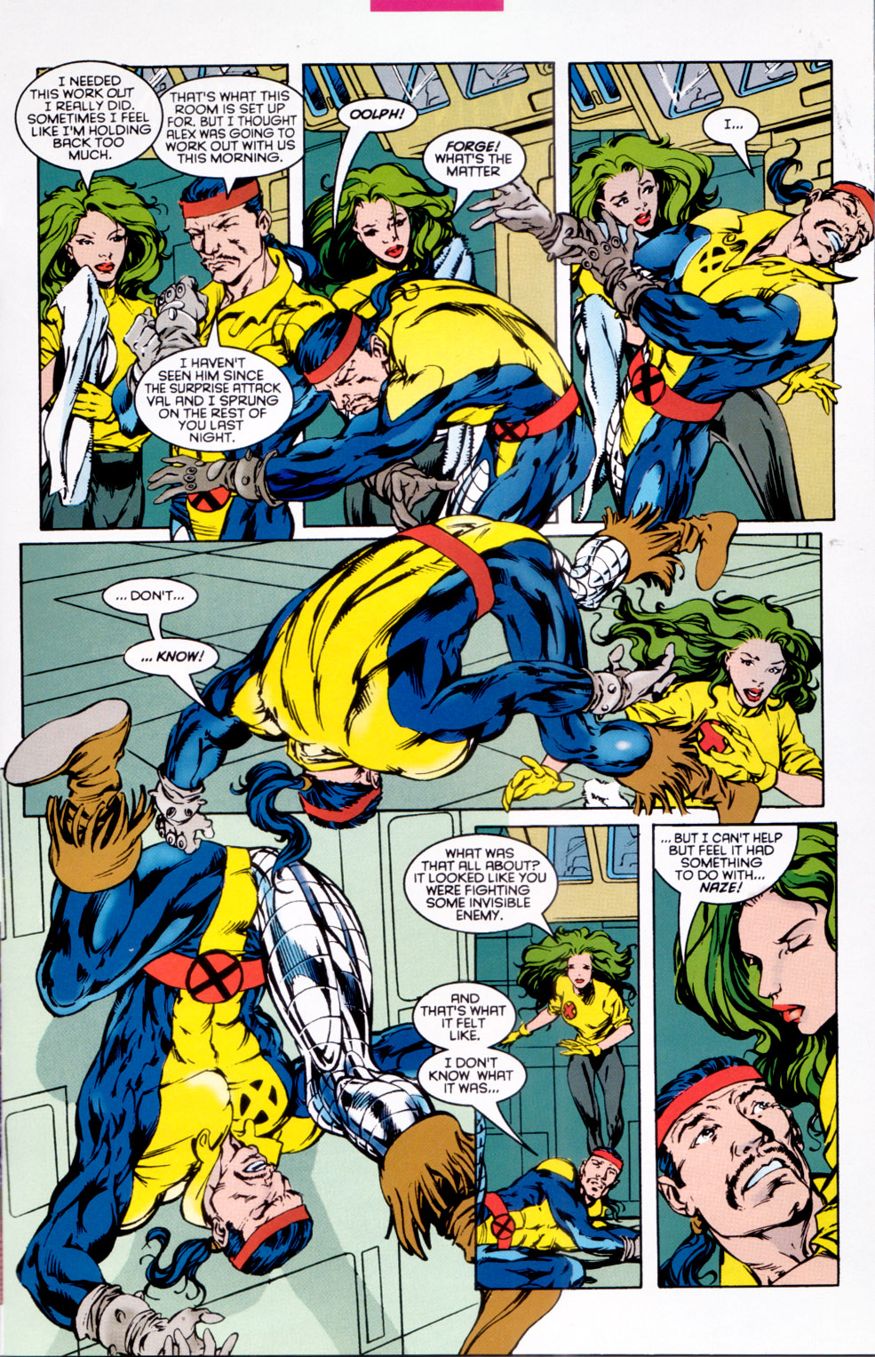 Read online X-Factor (1986) comic -  Issue #118 - 9