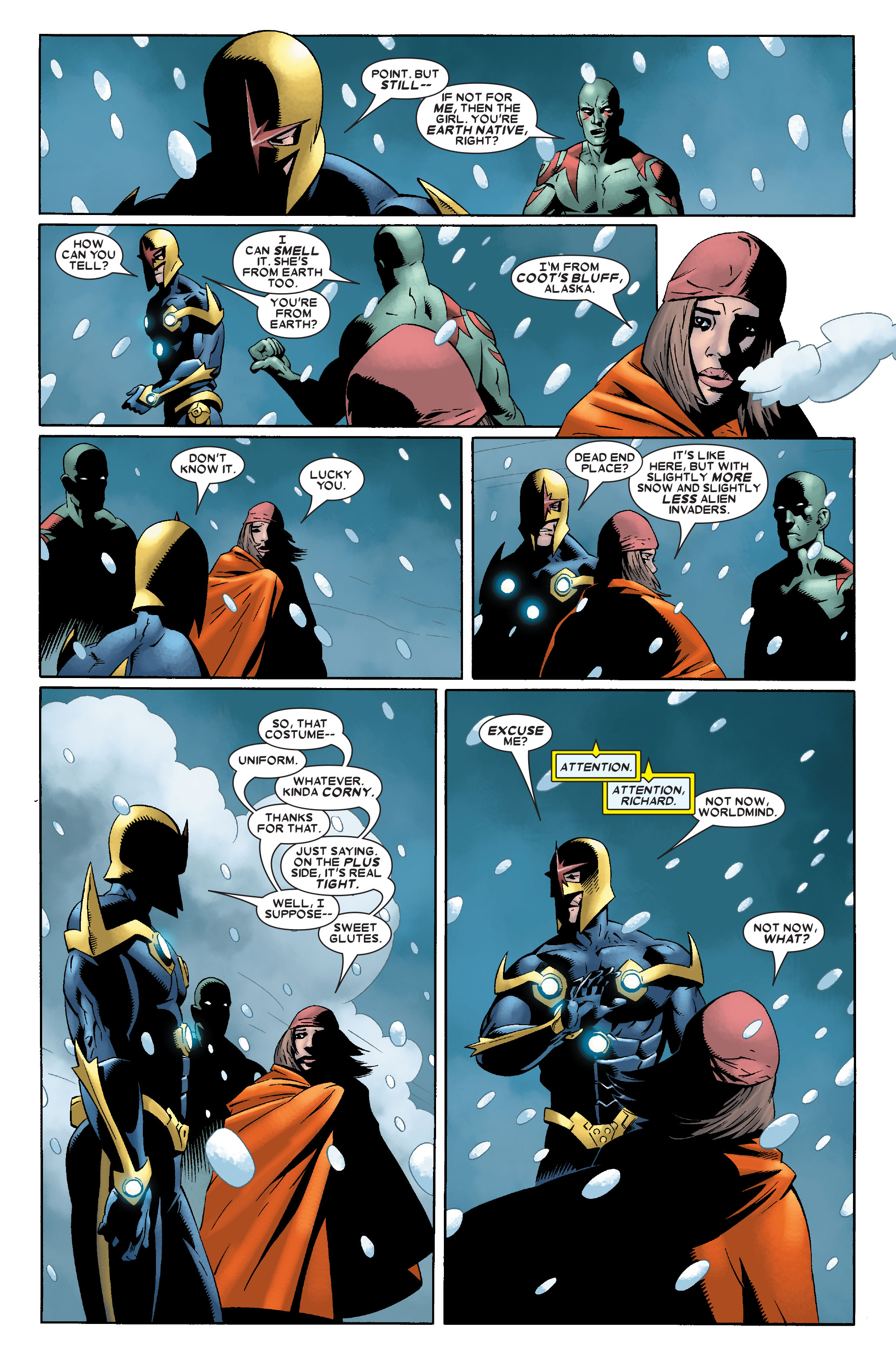 Read online Annihilation: Nova comic -  Issue #2 - 5