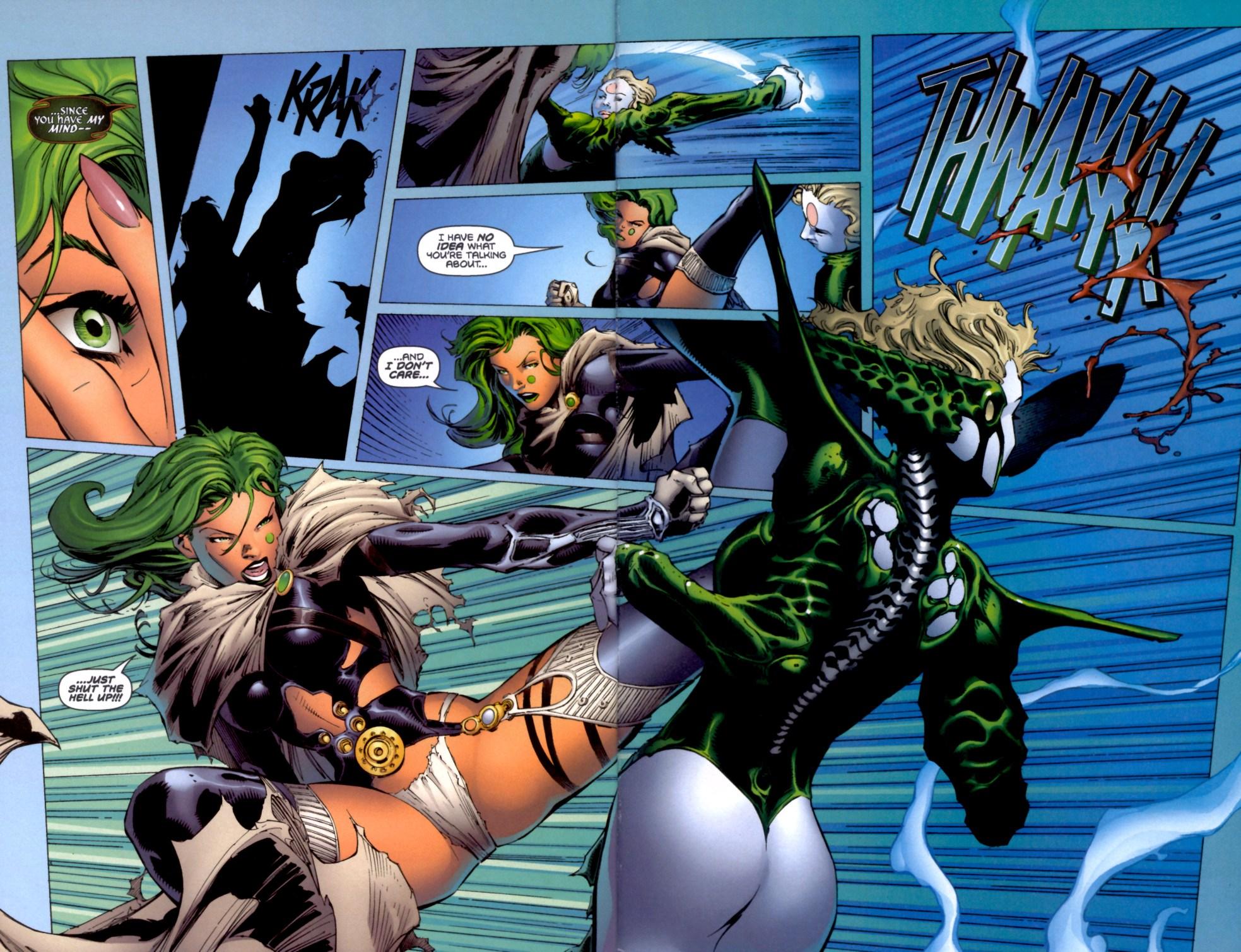 Read online Aphrodite IX (2000) comic -  Issue #4 - 35