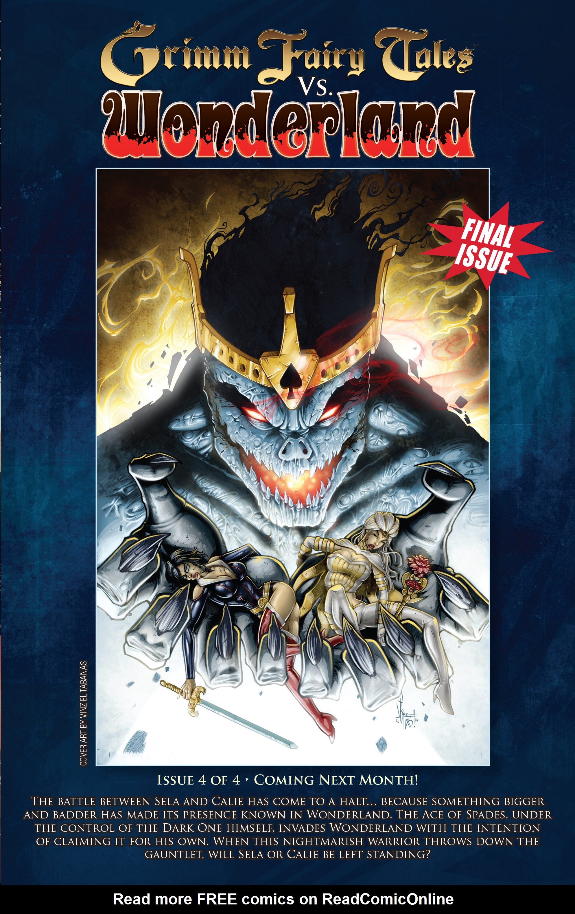Read online Grimm Fairy Tales vs. Wonderland comic -  Issue #3 - 25