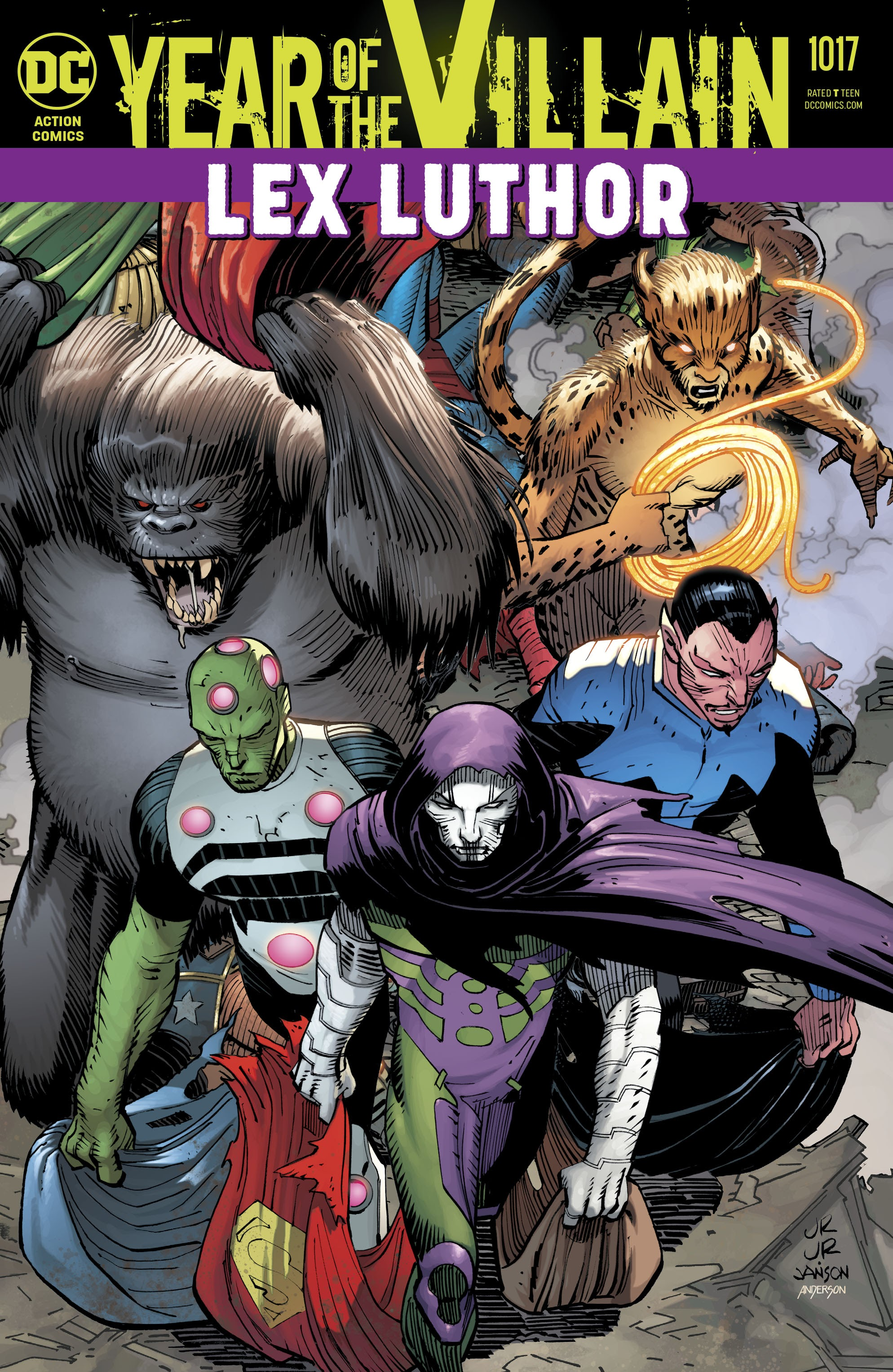 Action Comics (2016) 1017 Page 1