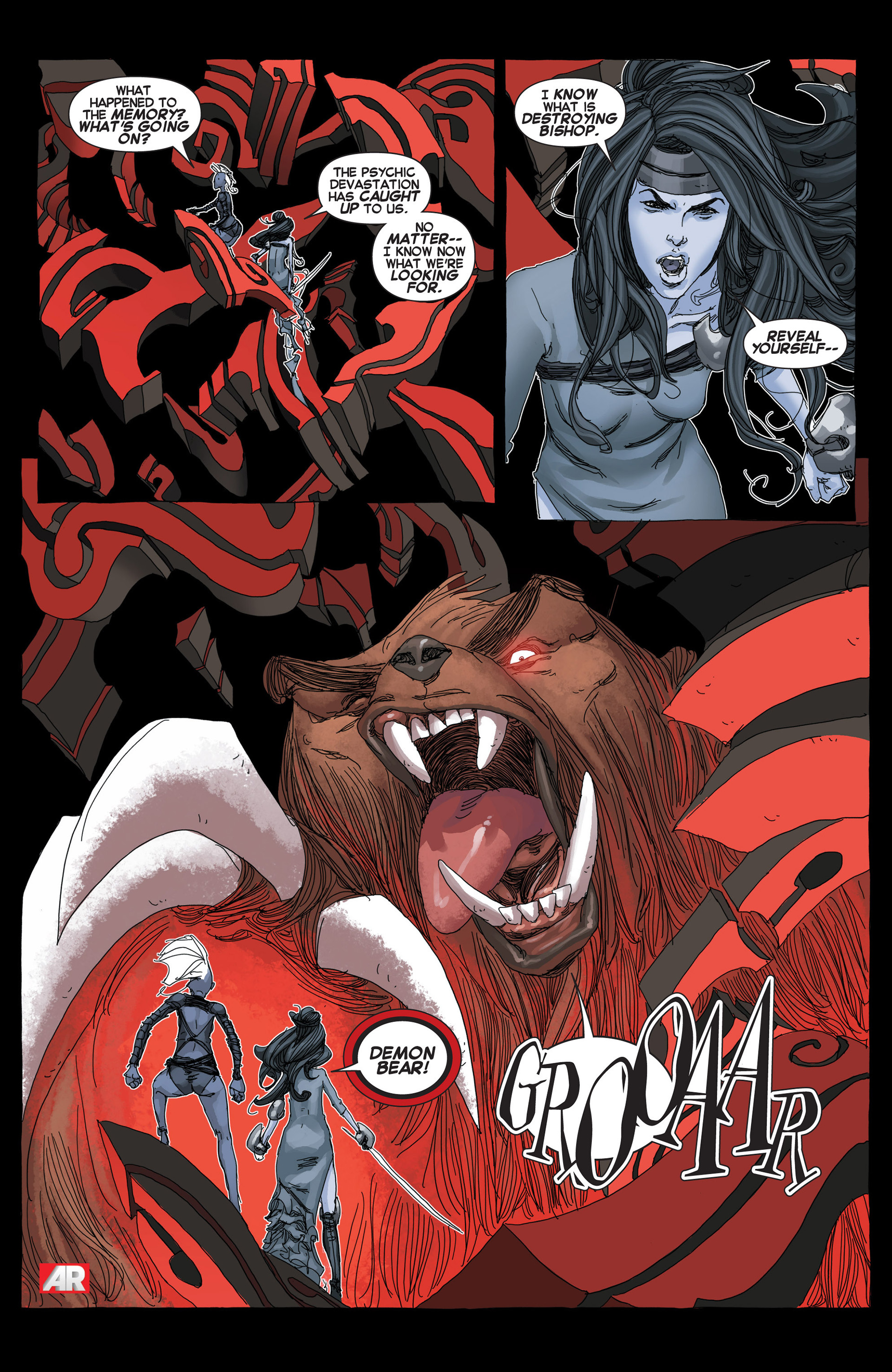 Read online Uncanny X-Force (2013) comic -  Issue #5 - 18