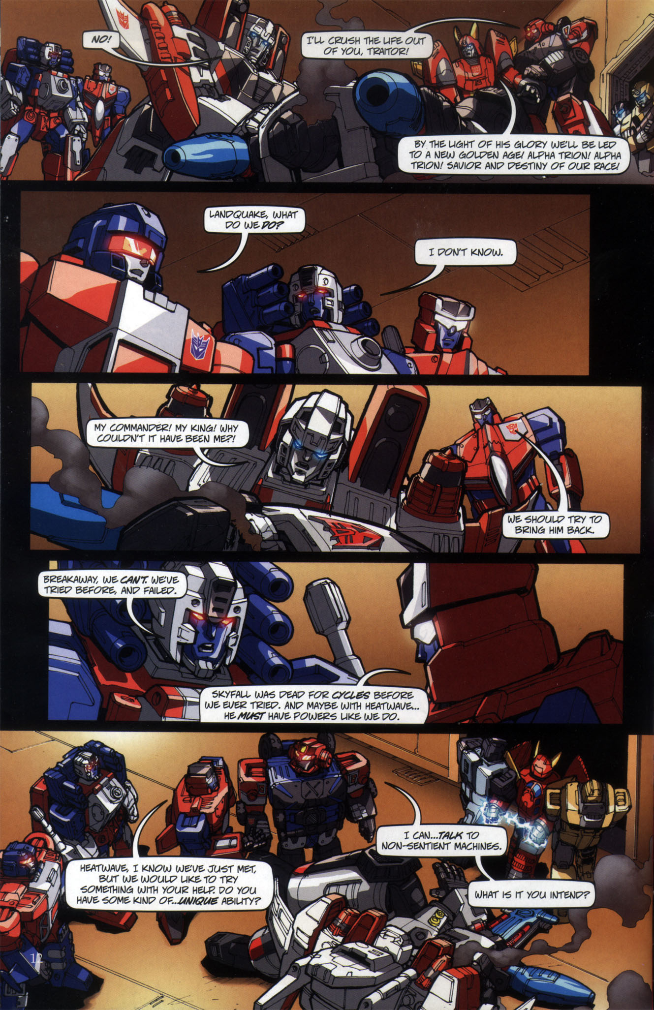 Read online Transformers: Collectors' Club comic -  Issue #29 - 12