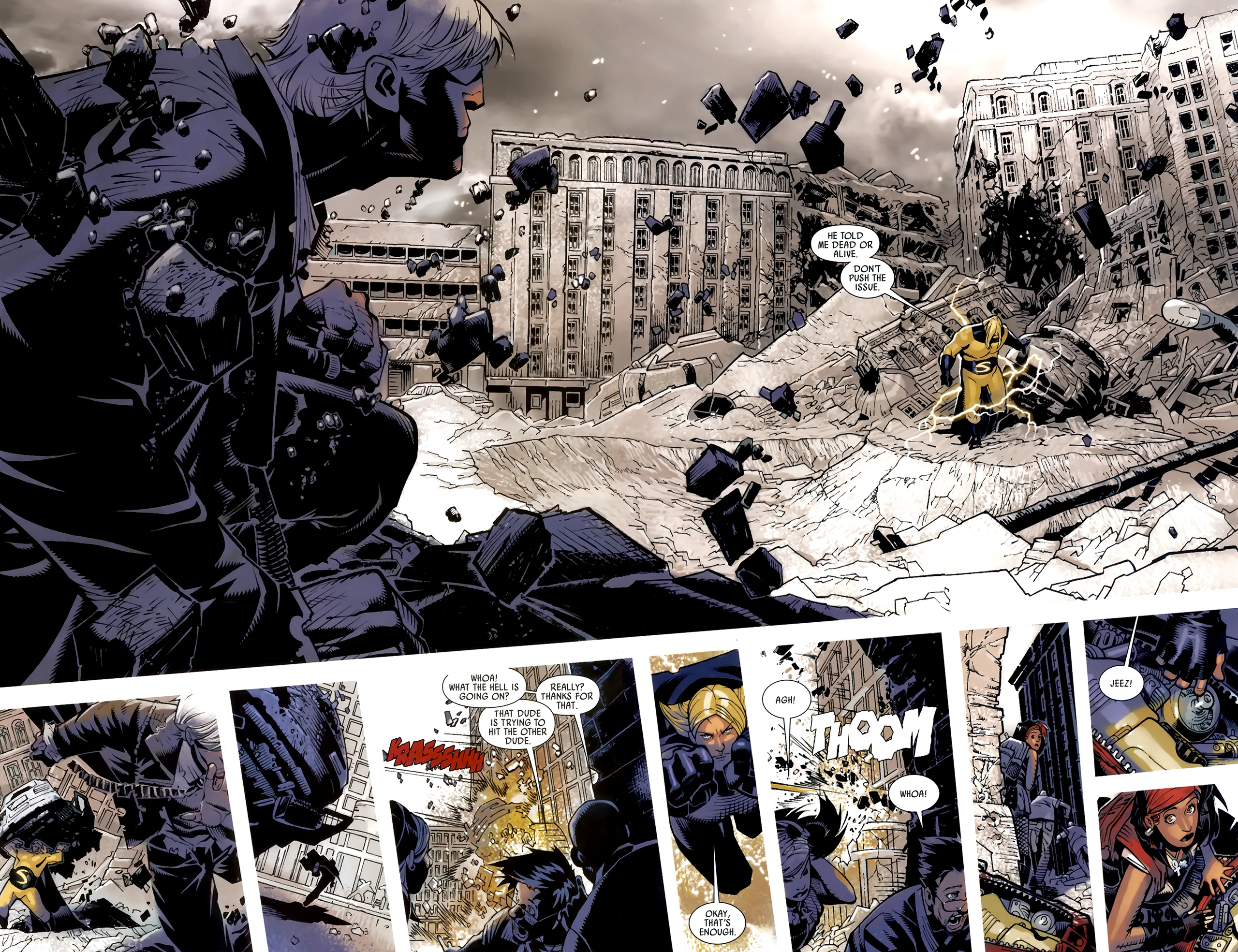 Read online Dark Avengers (2009) comic -  Issue # _Annual 1 - 13