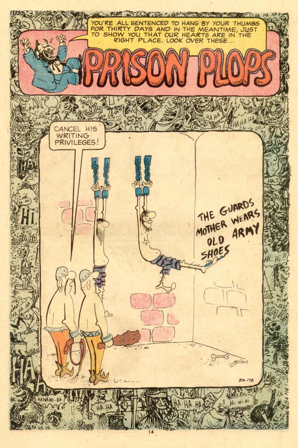Read online Plop! comic -  Issue #6 - 15