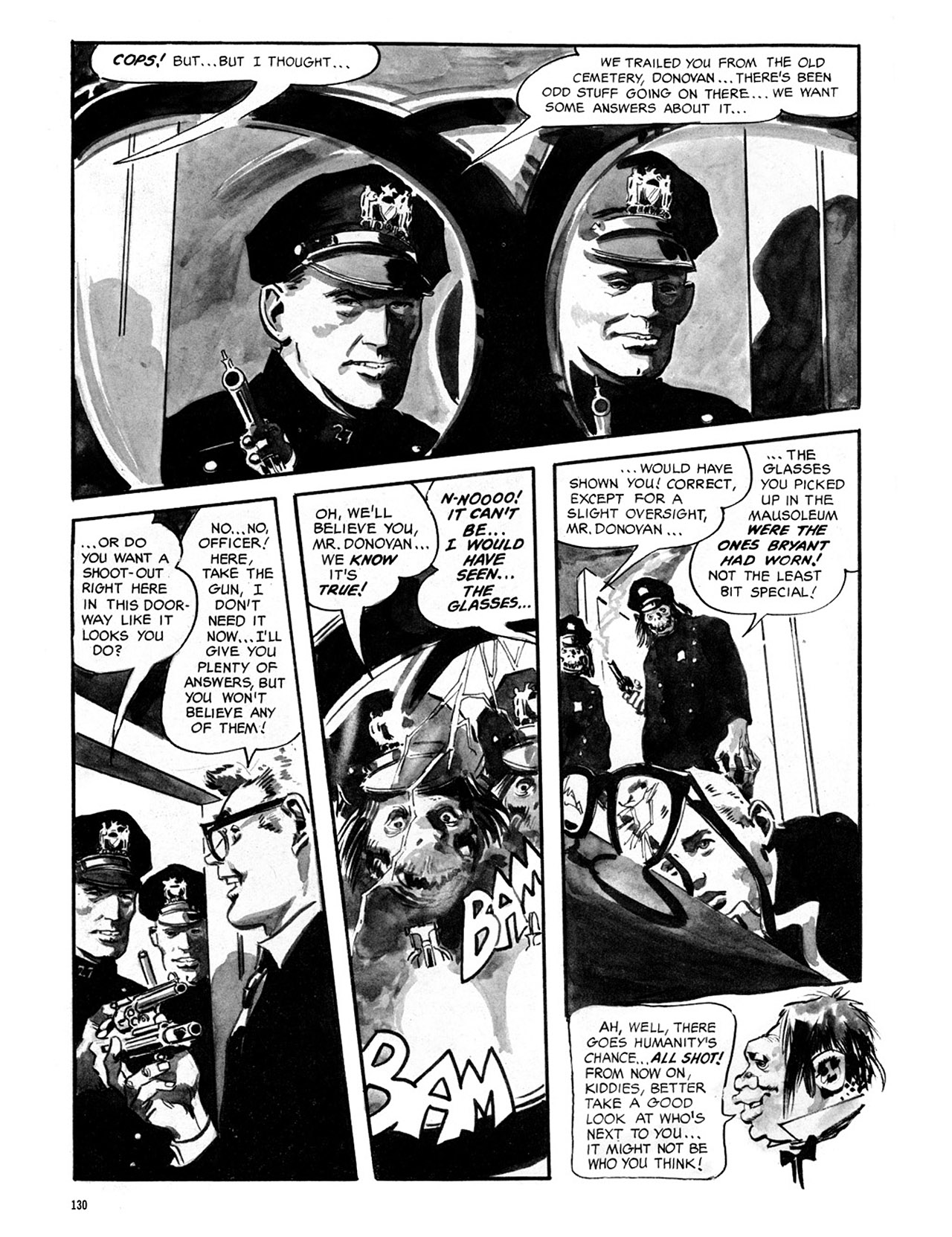 Read online Eerie Archives comic -  Issue # TPB 2 - 131