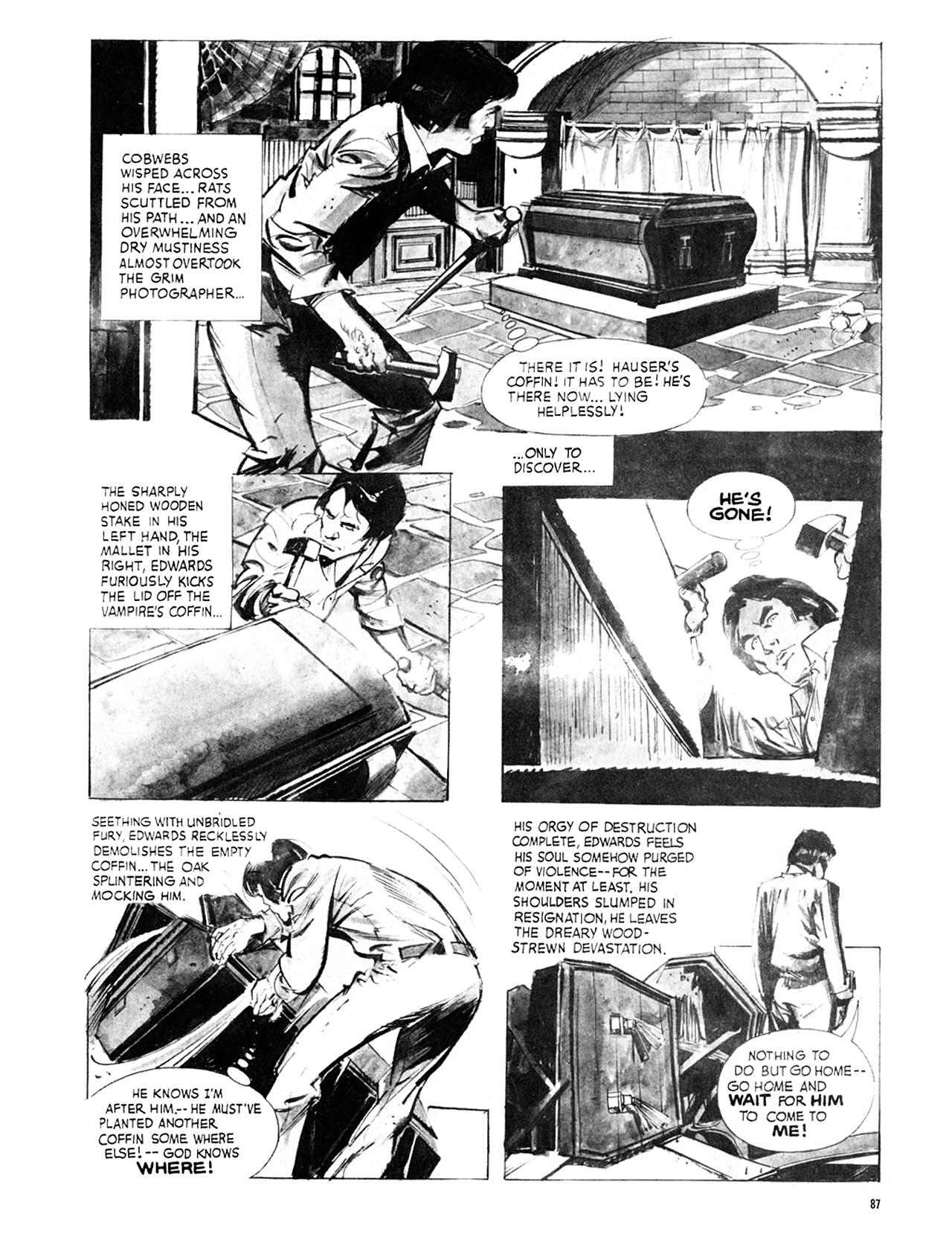 Read online Eerie Archives comic -  Issue # TPB 8 - 88