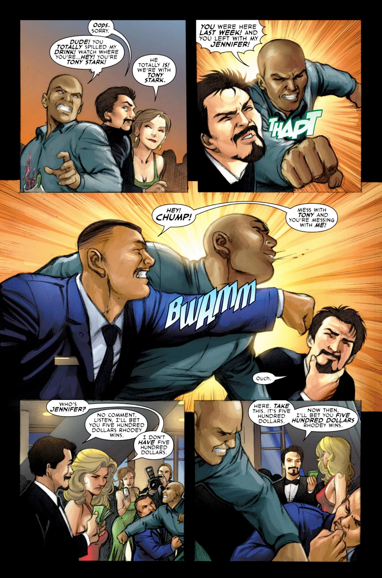 Read online Iron Man: Fast Friends comic -  Issue #1 - 6