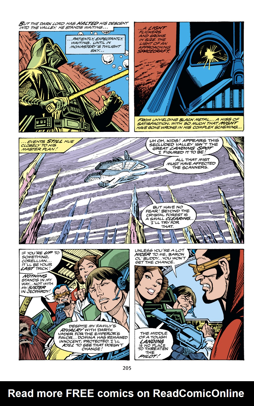 Read online Star Wars Omnibus comic -  Issue # Vol. 14 - 204