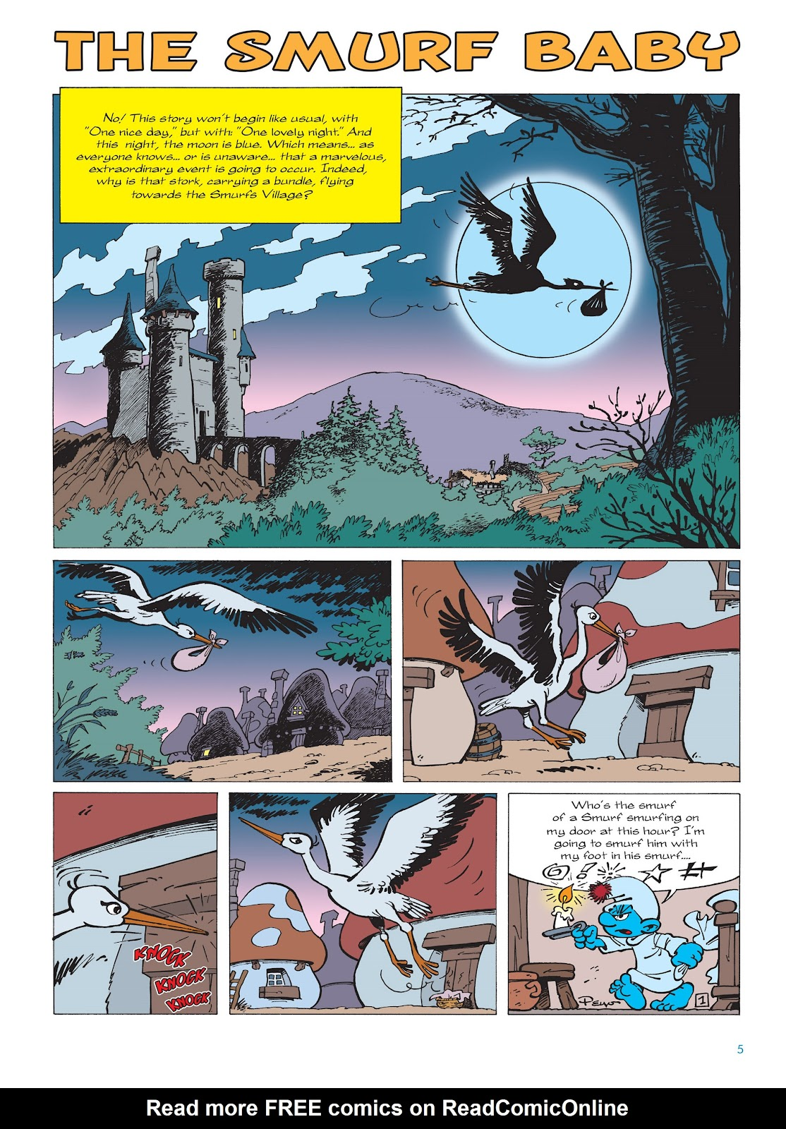 Read online The Smurfs comic -  Issue #14 - 6