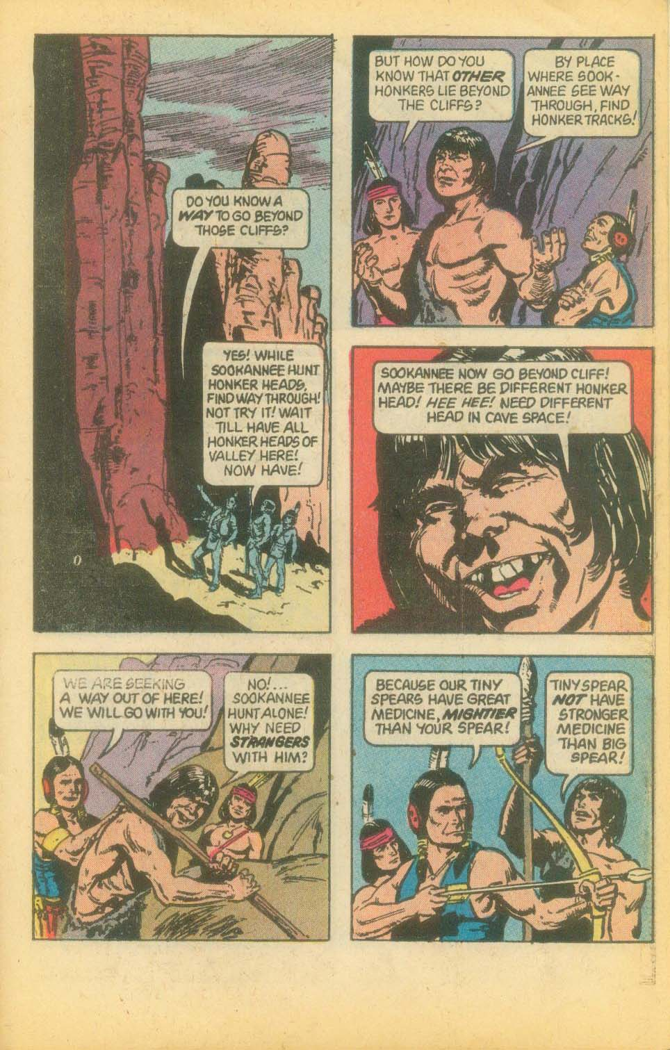 Read online Turok, Son of Stone comic -  Issue #120 - 27