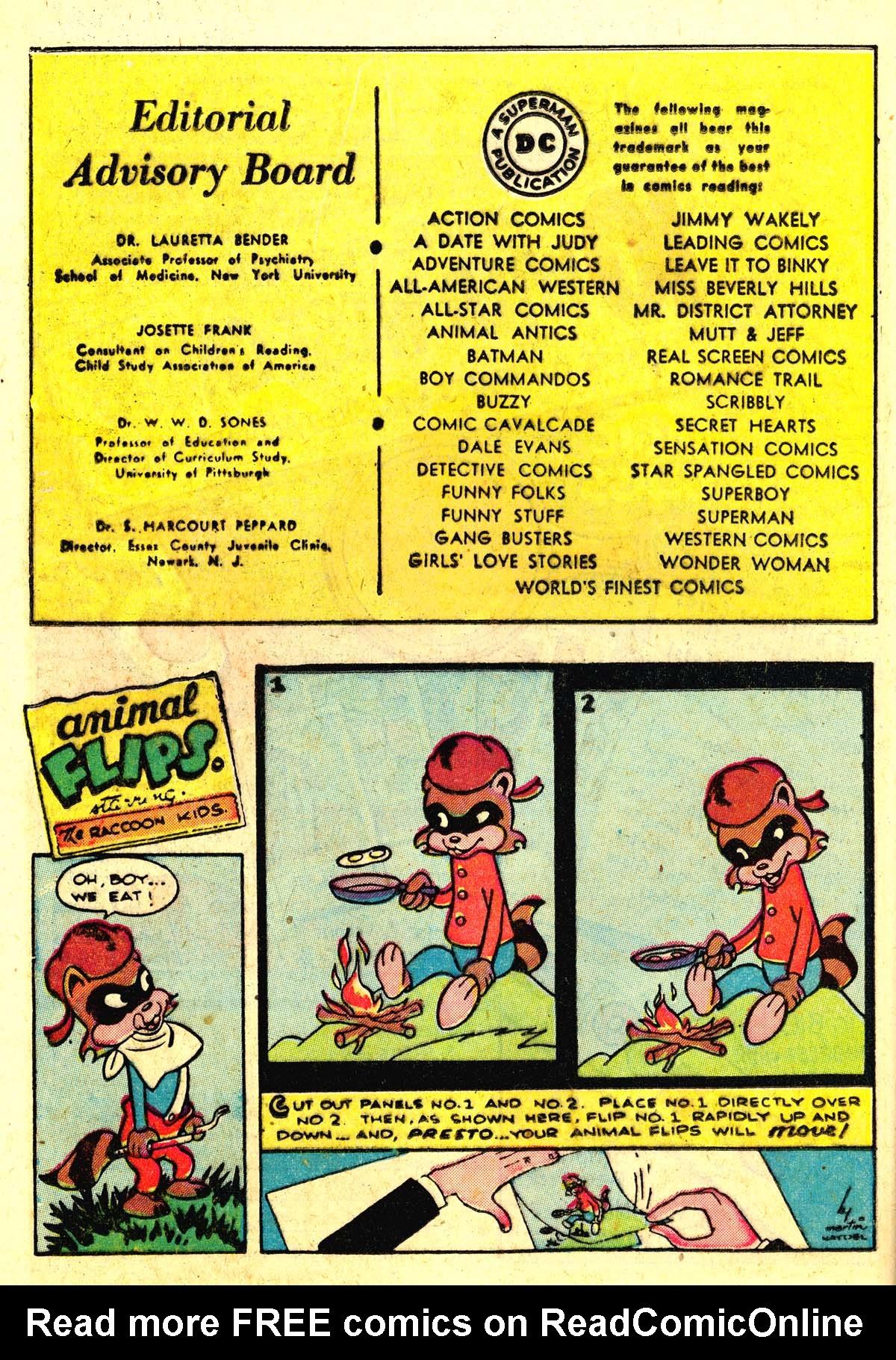 Read online Animal Antics comic -  Issue #22 - 36