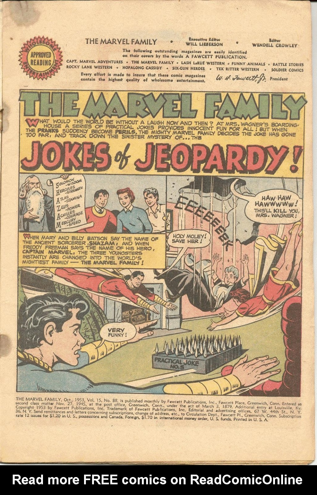 The Marvel Family issue 88 - Page 3