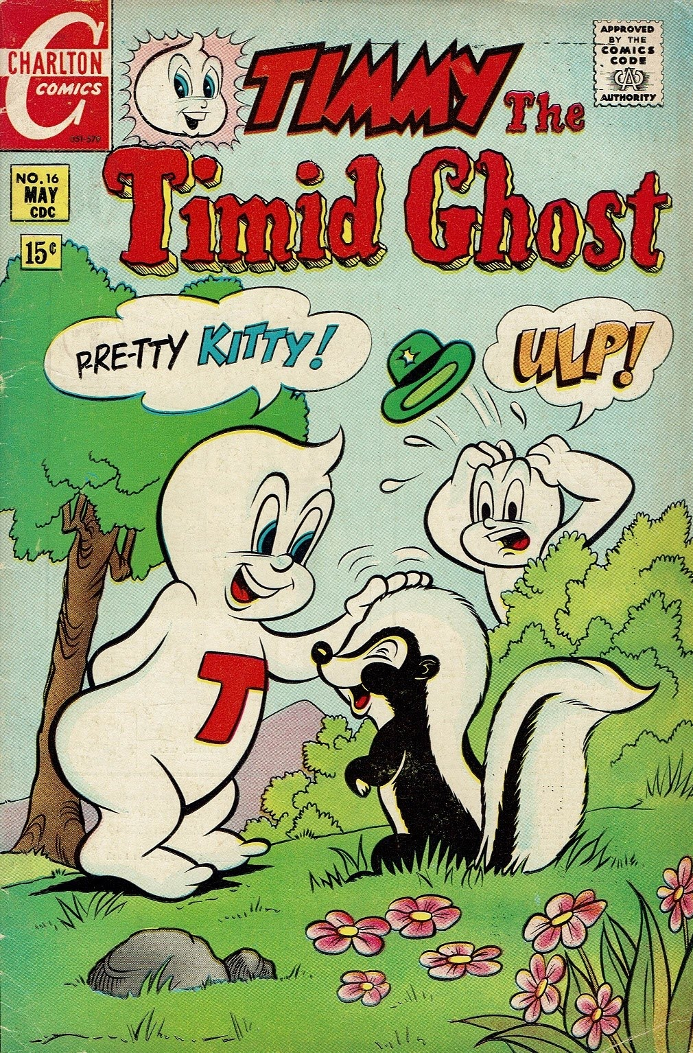 Timmy the Timid Ghost 16 Page 1