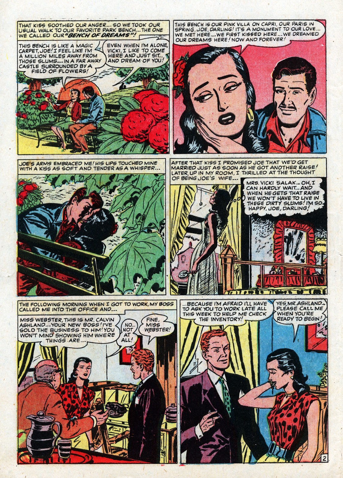 Love Romances (1949) issue 19 - Page 4