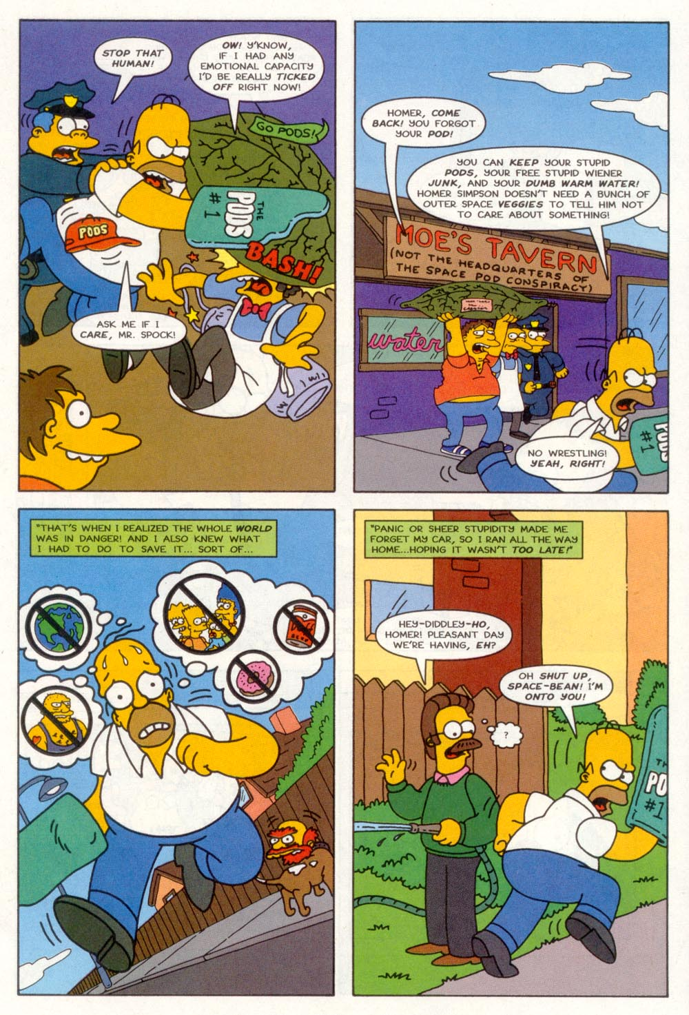 Read online Treehouse of Horror comic -  Issue #3 - 12