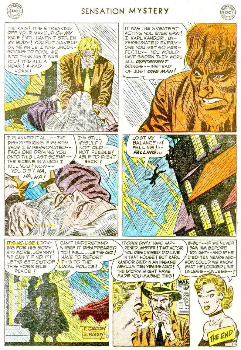 Read online Sensation (Mystery) Comics comic -  Issue #112 - 12