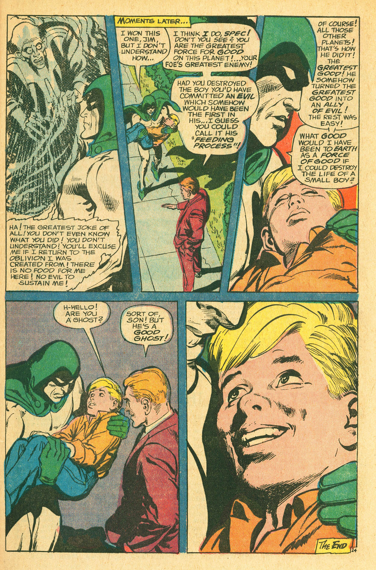 Read online Adventure Comics (1938) comic -  Issue #497 - 98