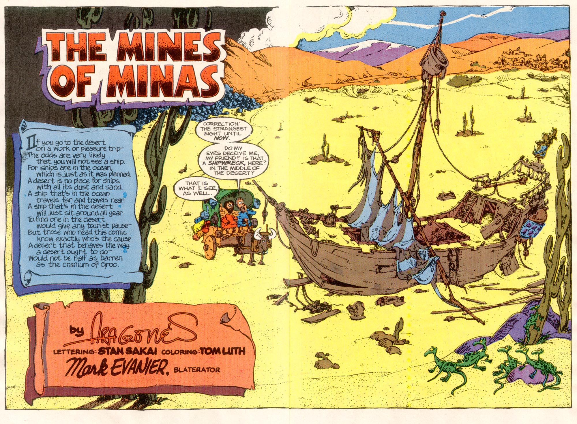 Read online Sergio Aragonés Groo the Wanderer comic -  Issue #76 - 3