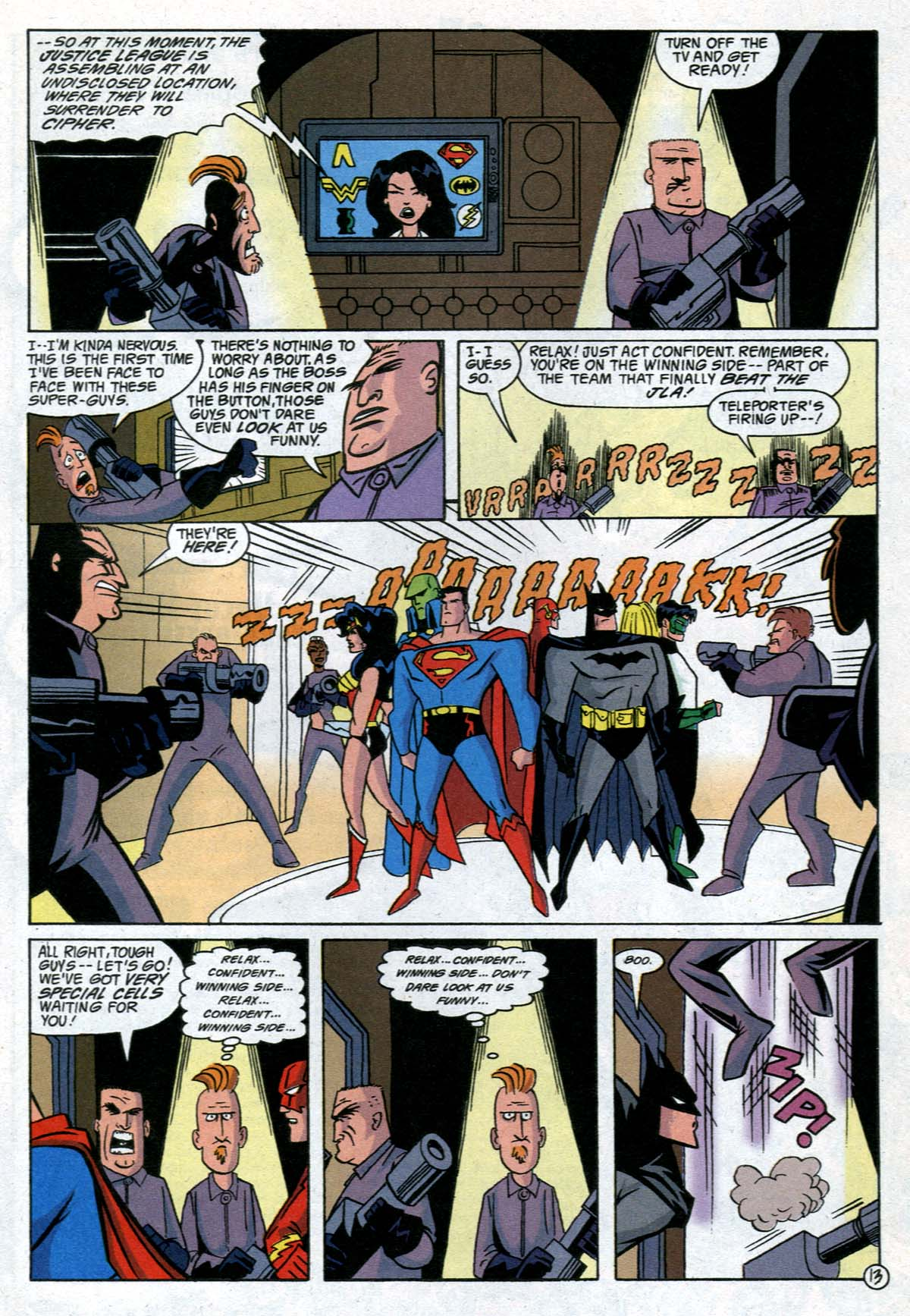 Read online Adventures in the DC Universe comic -  Issue #12 - 14