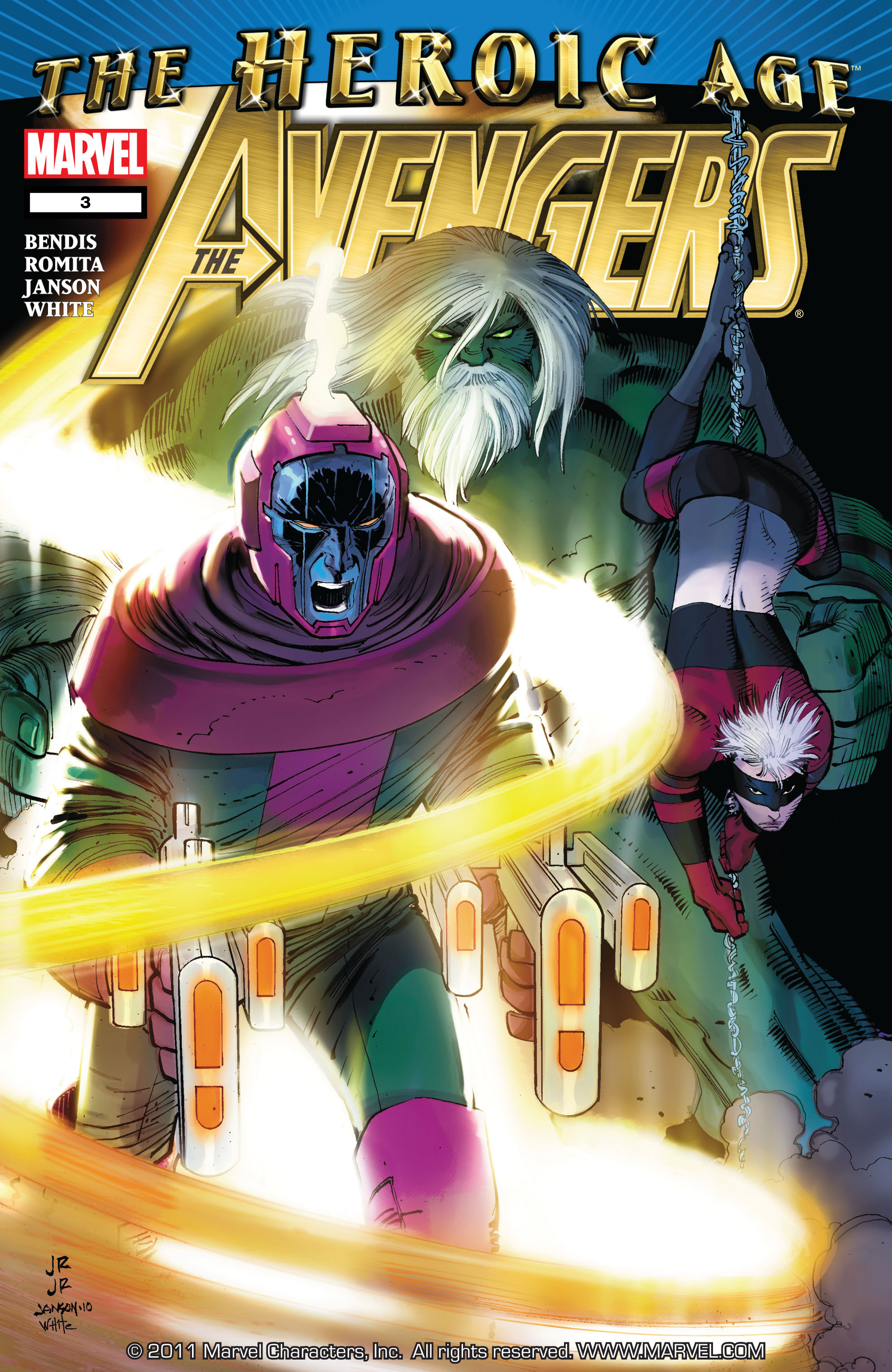 Read online Avengers (2010) comic -  Issue #3 - 1