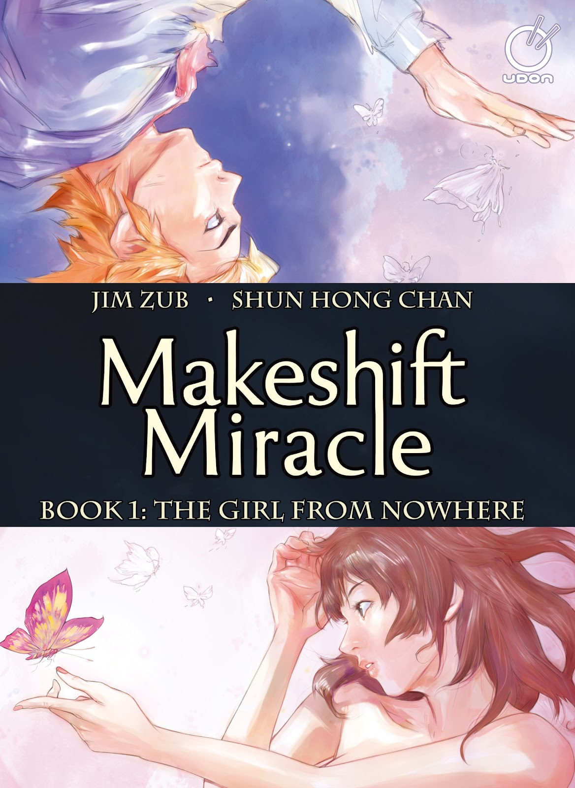 Read online Makeshift Miracle: The Girl From Nowhere comic -  Issue #1 - 1