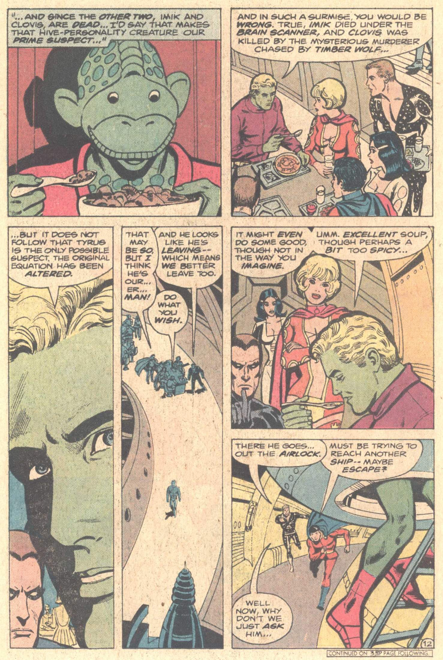 Legion of Super-Heroes (1980) 261 Page 20