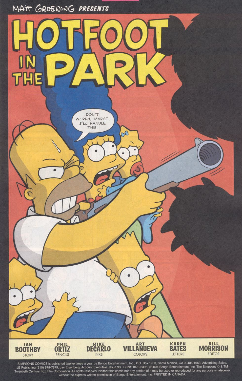 Read online Simpsons Comics comic -  Issue #93 - 2