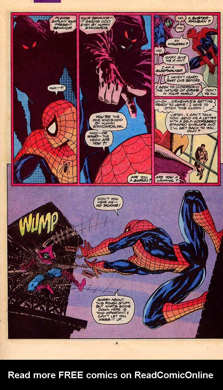 Read online Sleepwalker comic -  Issue #5 - 5