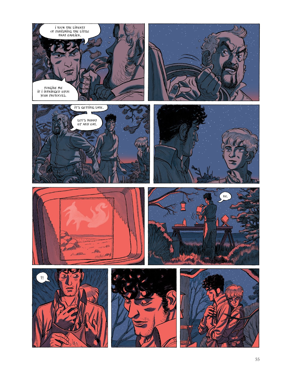 Read online The Smell of Starving Boys comic -  Issue # TPB - 56
