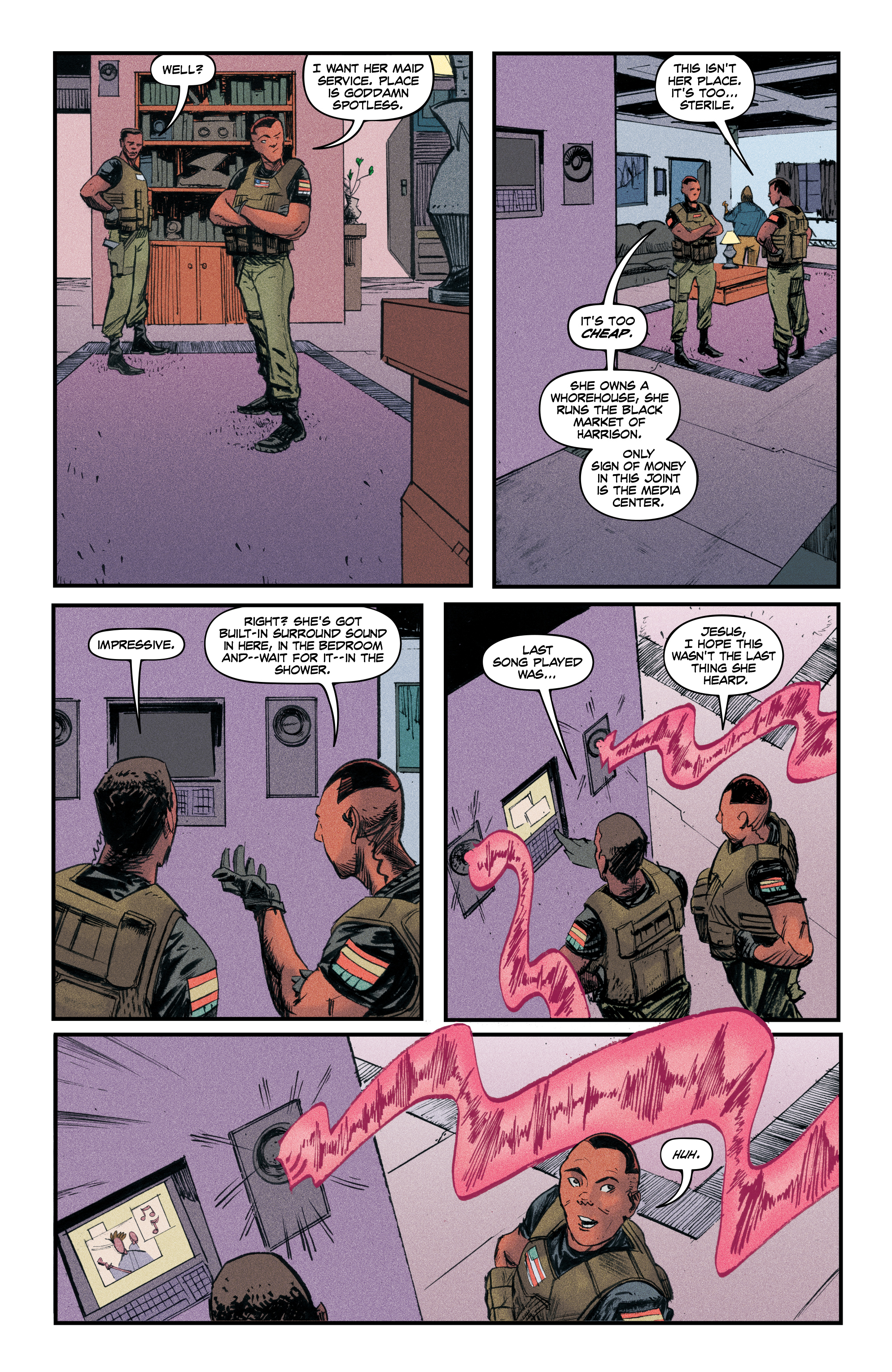 Read online Redline comic -  Issue #4 - 22