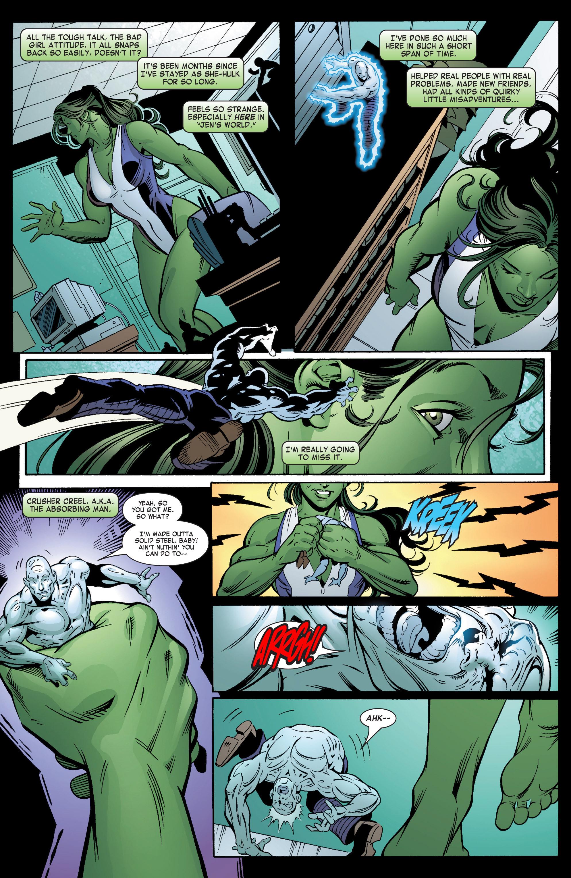 Read online She-Hulk (2004) comic -  Issue #6 - 11