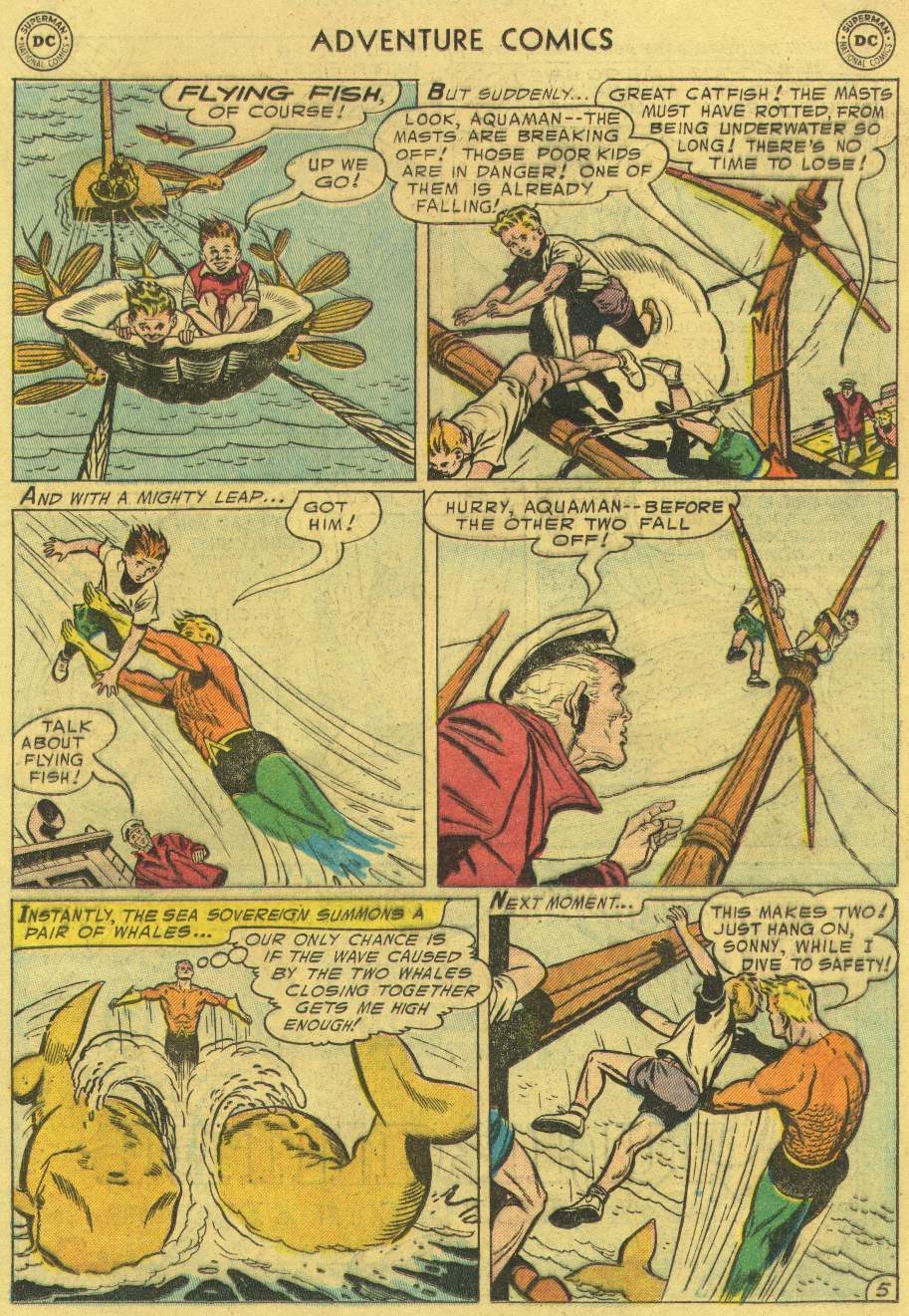 Read online Adventure Comics (1938) comic -  Issue #219 - 21