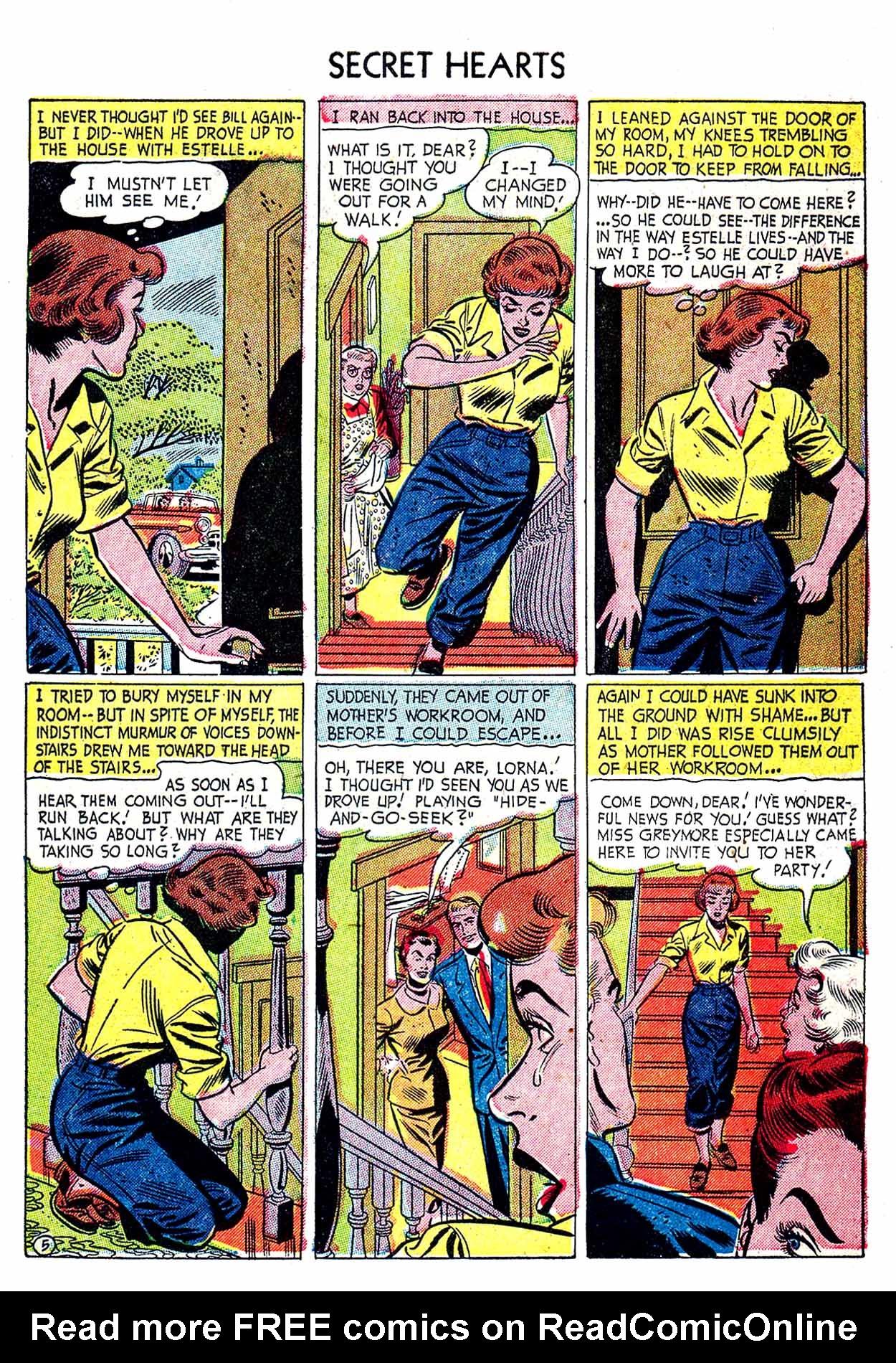Read online Secret Hearts comic -  Issue #19 - 31