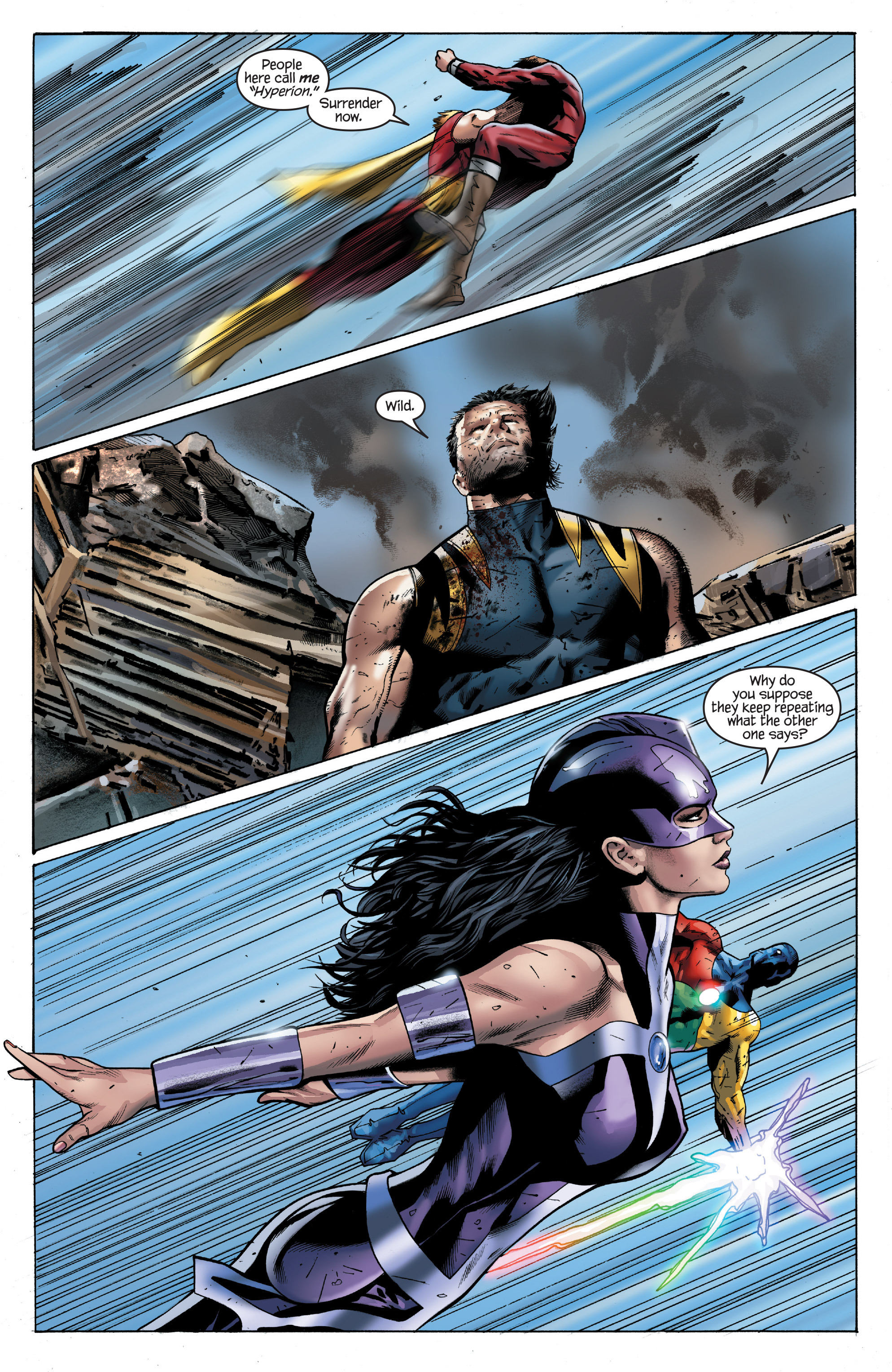 Read online Ultimate Power comic -  Issue #8 - 15