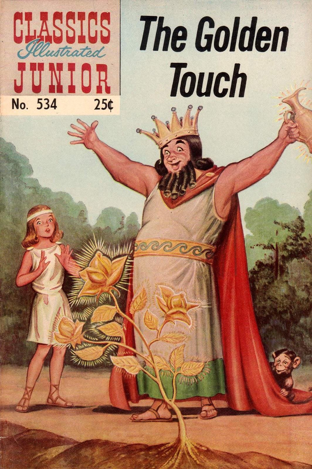 Classics Illustrated Junior 534 Page 1