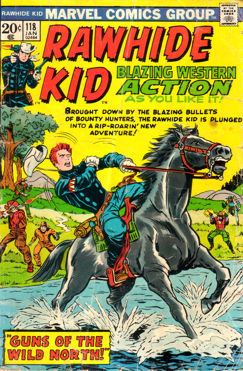 The Rawhide Kid (1955) issue 118 - Page 1