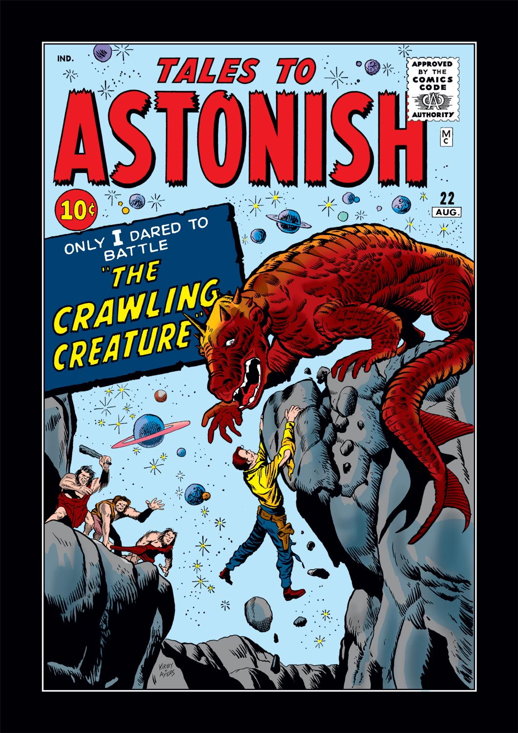 Tales to Astonish (1959) issue 22 - Page 1