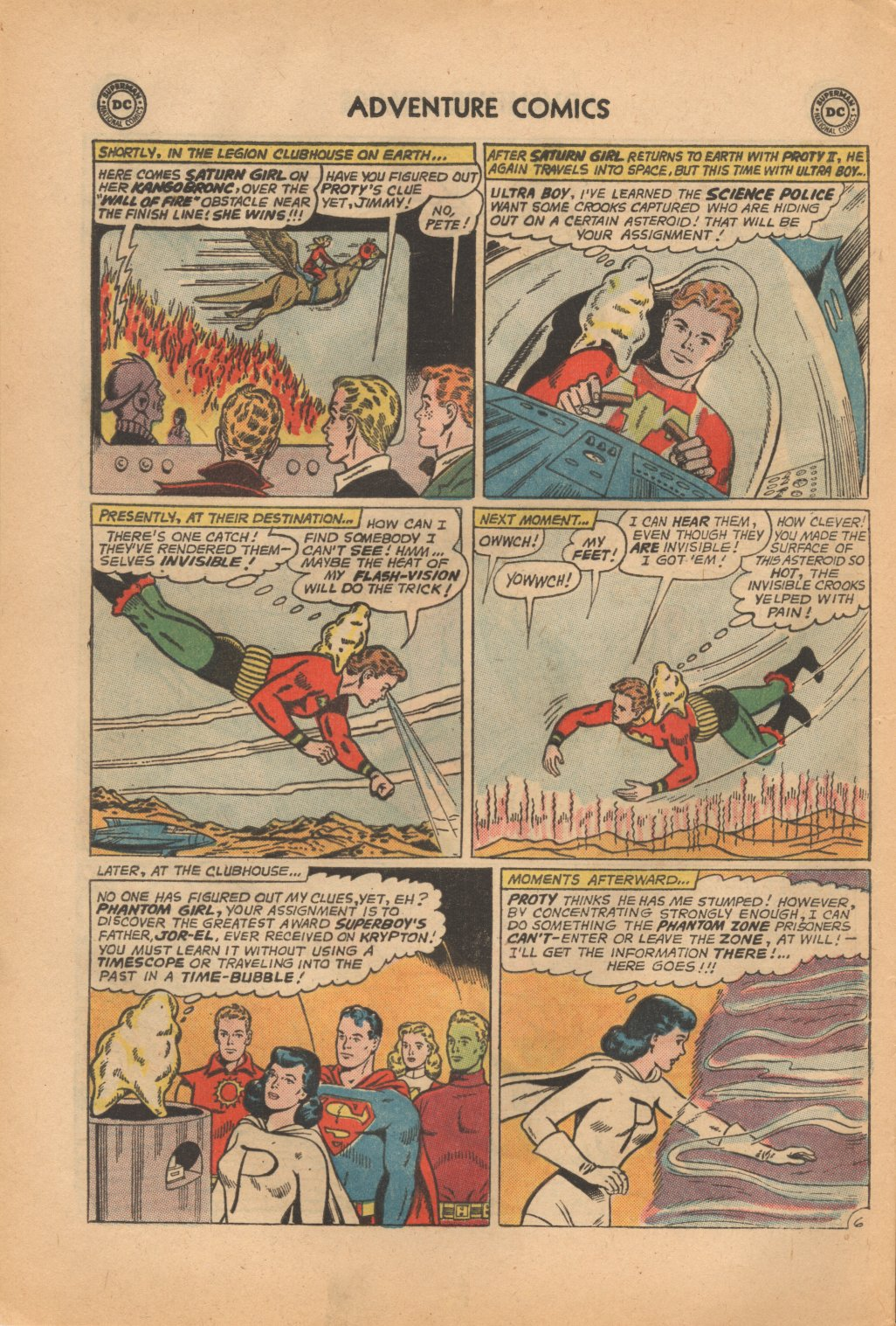 Read online Adventure Comics (1938) comic -  Issue #323 - 8