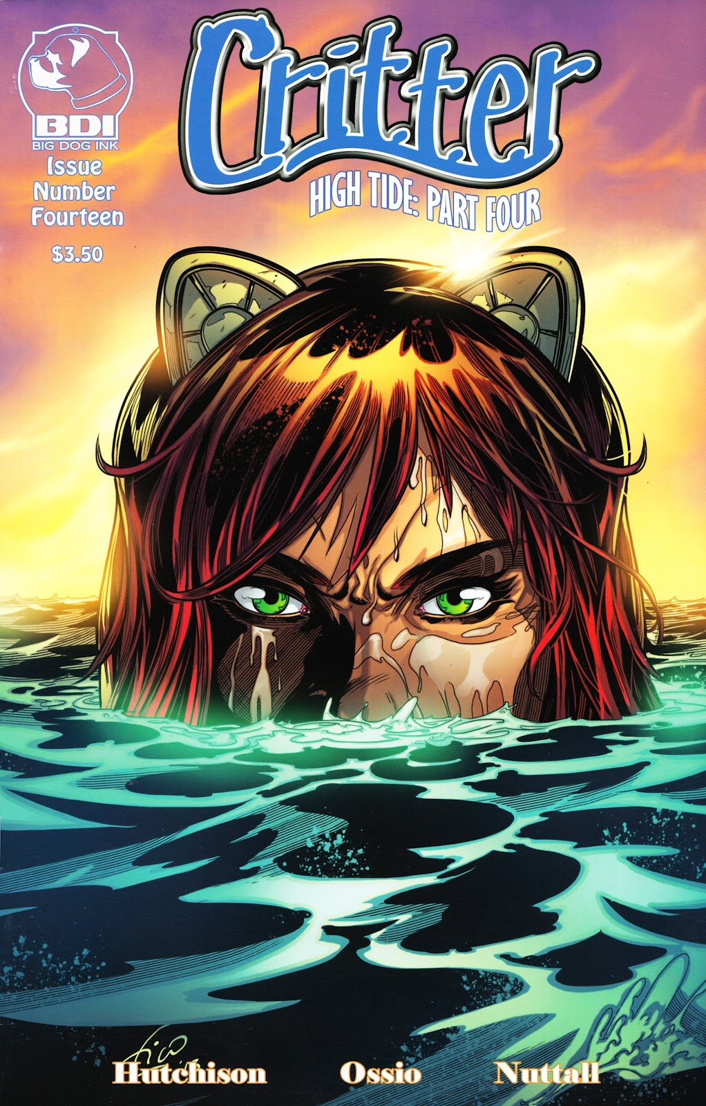 Read online Critter (2012) comic -  Issue #14 - 1