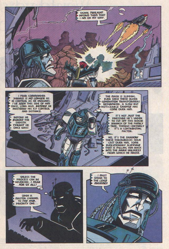 Read online Transformers: Generation 2 comic -  Issue #11 - 7